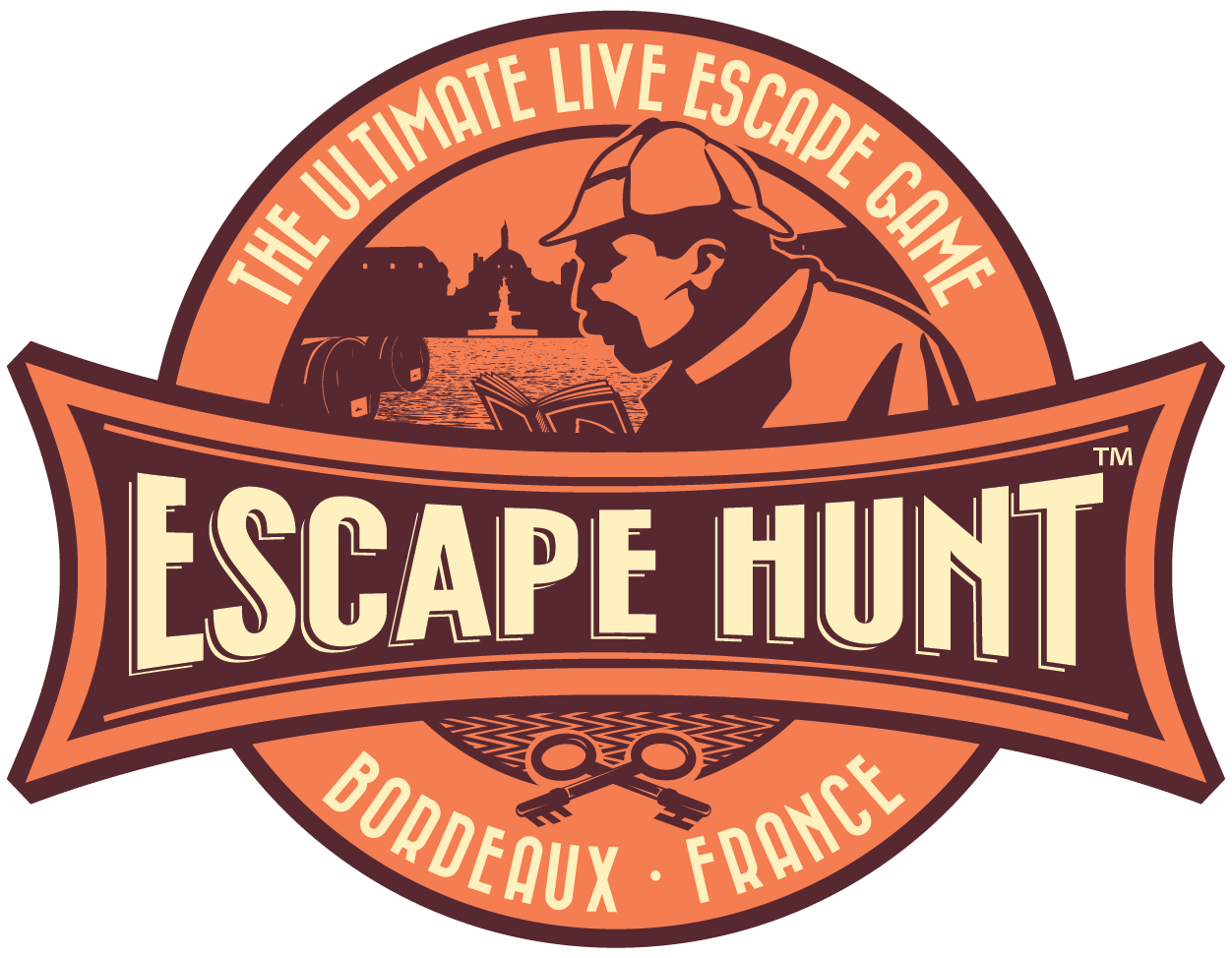 escape hunt bordeaux la carte des escape game. Black Bedroom Furniture Sets. Home Design Ideas