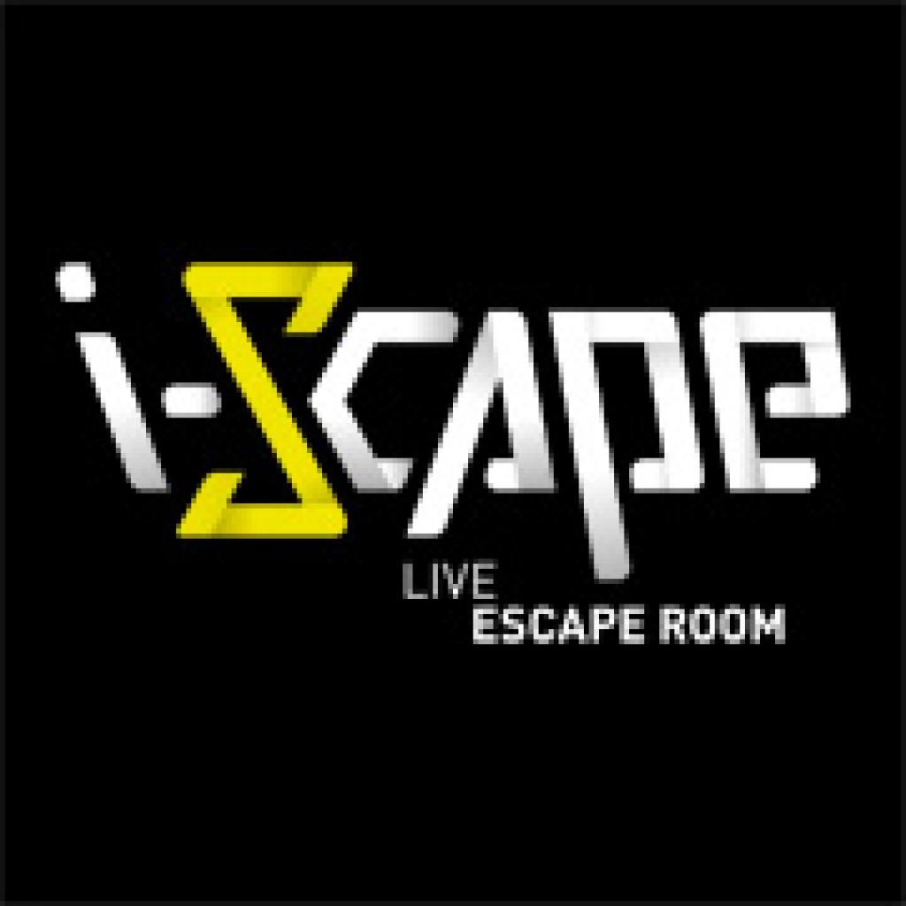 logo i scape baseline la carte des escape game. Black Bedroom Furniture Sets. Home Design Ideas