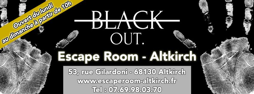 black out escape room altkirch escape game avis promo. Black Bedroom Furniture Sets. Home Design Ideas